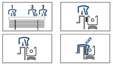 clip sans per age pour fen tre en pvc. Black Bedroom Furniture Sets. Home Design Ideas