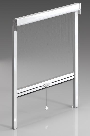 Moustiquaire enroulable coffre de 54 mm for Zip pour fenetre